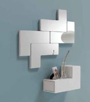 Consola o espejo tetris - Consola o espejos en forma de tetris