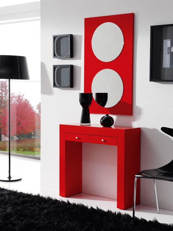 Espejos de entradas espejo rectangular hermes marco for Espejos decorativos para entradas