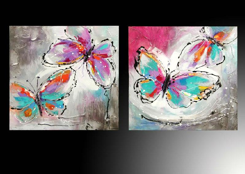 Mariposas cuadros imagui - Cuadros de colores ...