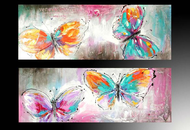 Cuadros de mariposas modernos - Imagui