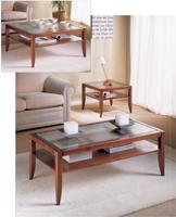 Mesas de centro Domus D800 o D810 o D820 - Mesas de centro Domus D800 o D810 o D820, fabricado en madera maciza y cristal.