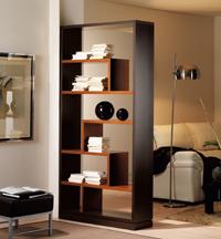 Moderno y estilizado separador estantería - Moderno y estilizado separador estantería