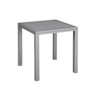 Mesa auxiliar Cubic Shio Aluminio