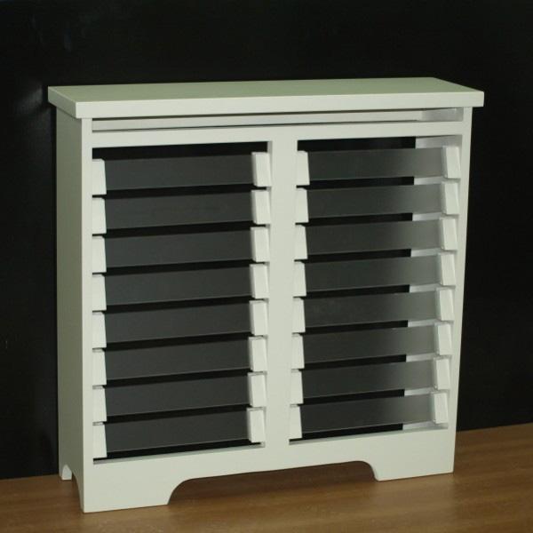 Cubreradiadores de cristal for Muebles cubreradiadores modernos