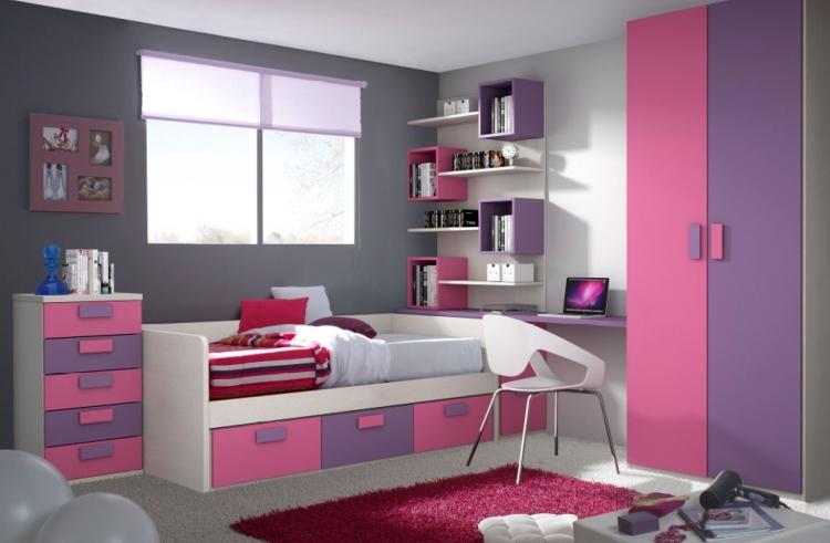 Cama compacta nido dormitorios dormitorios juveniles for Camas con cajones debajo