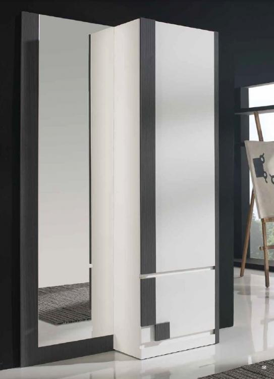 Muebles recibidor con armario 20170801165019 for Recibidor zapatero con espejo