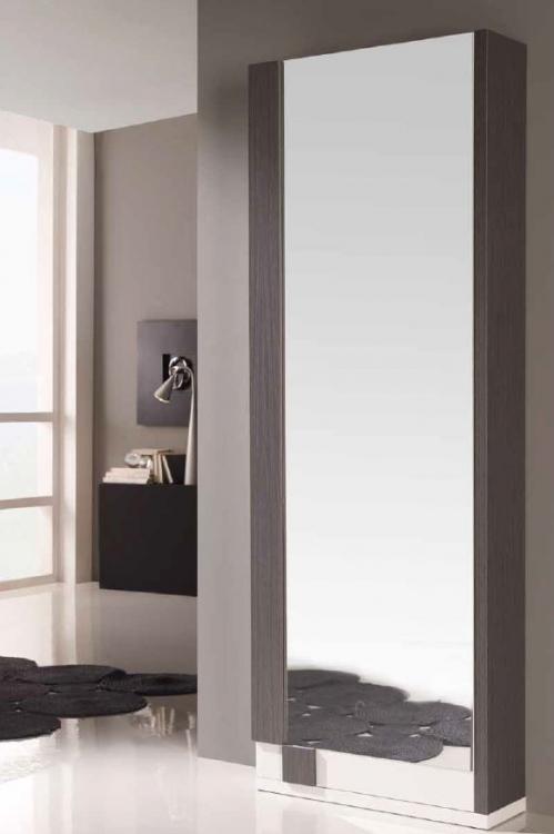 Zapatero moderno cadiz for Armario alto zapatero con espejo