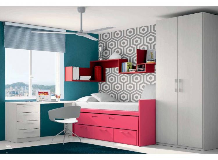 Top 28 cama nido moderna juvenil madera cama juvenil for Cama nido color madera