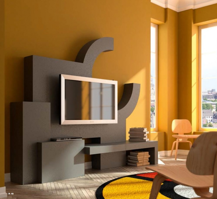 Tv mesa de dise o madrid for Diseno de muebles para licores