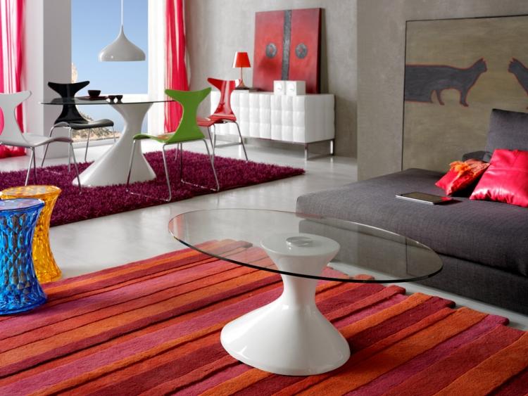 Mesa centro salon dise o moderno cantabria - Recambio tela parasol ...