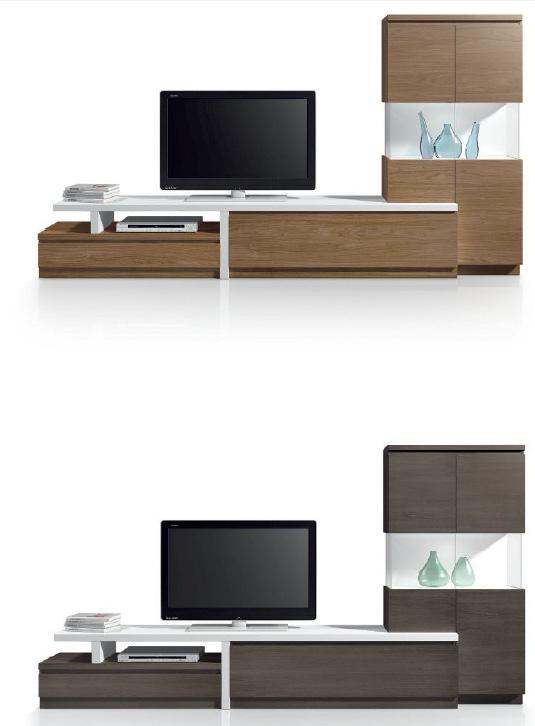 Mesa baja salon moderno cristal malaga for Salon completo moderno