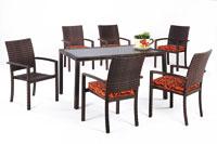 Set de sillas y mesa modelo DAFF