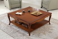 Mesa de centro clasica 57T - Mesa de centro clasica 57T, fabricado en madera de cerezo, diferentes tipos de acabados.