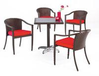 Set de sillas y mesa modelo DUNNA