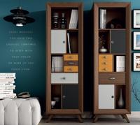 Estanteria con cajones Vintage AU200 - Estanteria con cajones Vintage AU200, fabricado en madera de alta calidad, excelentes detalles.