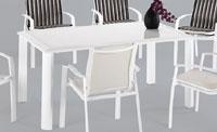 Set sillas y mesa estructura aluminio modelo ELITE