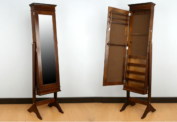 Espejo de pie joyero 2 dormitorios muebles de interior for Espejos para dormitorios pie