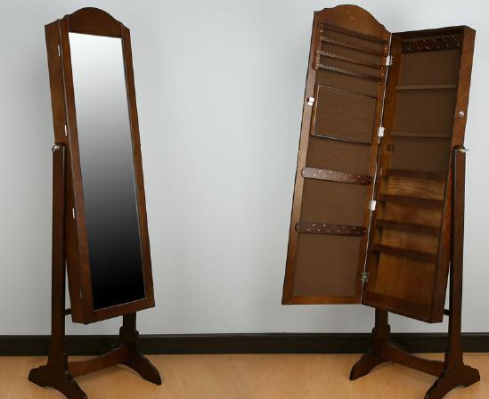 Espejo de pie joyero 3 decoraci n y accesorios espejos - Espejo joyero de pie ...