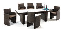 Set de sillones y mesa modelo ESTRADA