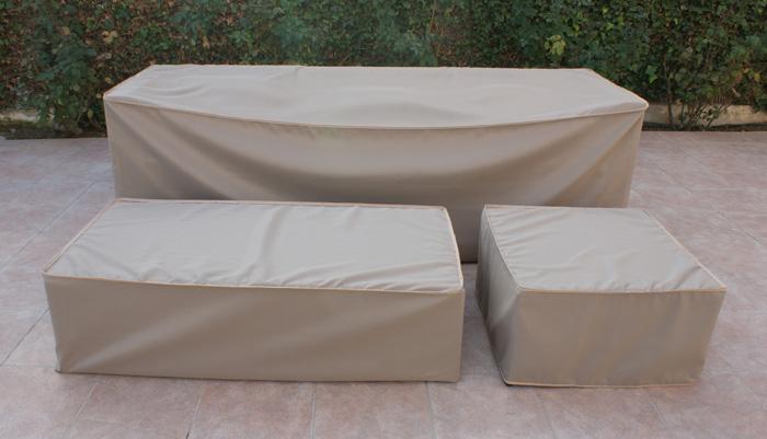 Fundas para mesas rectangulares de exteriores poliester - Funda sofa exterior ...