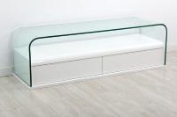 Mueble para TV moderno - Mueble para TV con cristal diseño moderno