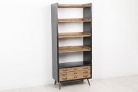 Estanter�a librero con cajones - Estanter�a librero de madera con cajones