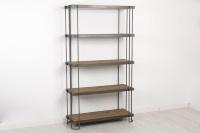 Librero con baldas de abeto - Estanter�a librero de madera de abeto