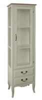 Vitrina de madera 4 - Con puertas y laterales de cristal