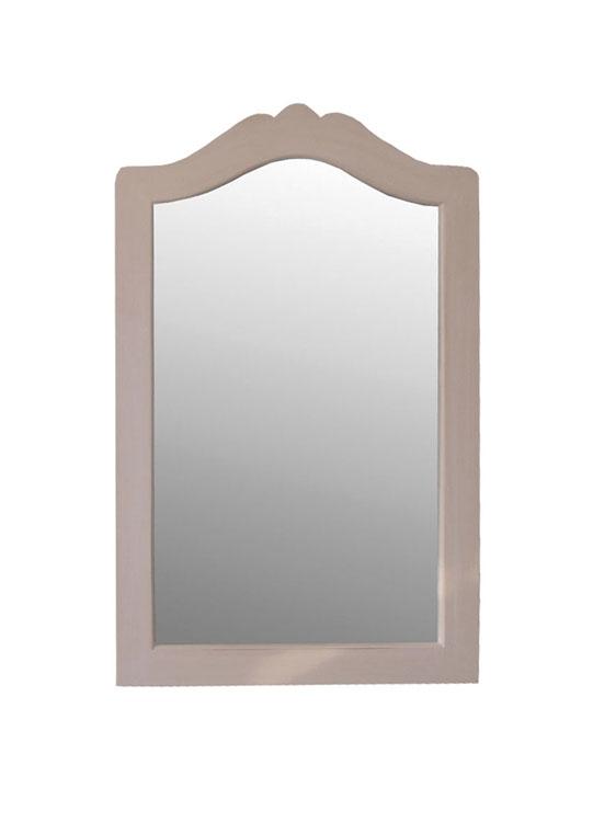 Espejo madera multicolor for Espejo marco ancho