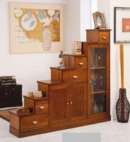 Recibidor fabricado en madera de pino 2 - Fabricado en madera de pino y tintado en varios colores.