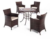 Set sillas y mesa mosaico modelo GOA2