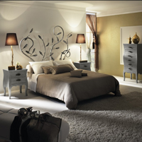 Dormitorio de forja Duyal - Cabecero de forja Duyal