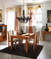 Mesa de Comedor Aristos o silla Didima - Mesa de Comedor Aristos o silla Didima fabricado en cerezo macizo