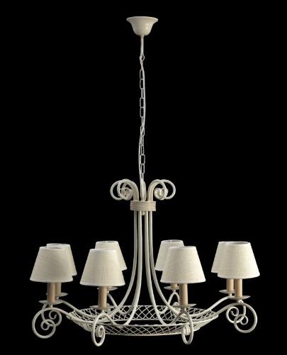 L mpara cesta de 3 5 y 8 luces decoraci n y accesorios for Lamparas para cenadores
