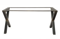 Pie de mesa aspas - Perfil de 60x60