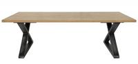 Mesa de comedir dise�o exclusivo - Estructura de hierro tapa de madera