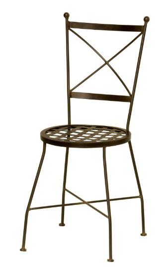 Sillas de forja fabricaci n espa ola for Modelos de sillas de metal
