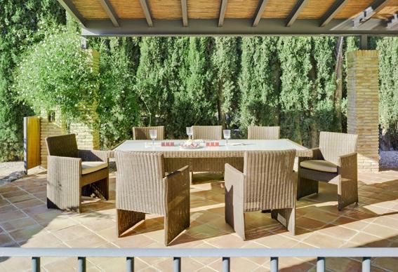Cuidar los muebles de ratt n - Comedores exteriores para terrazas ...