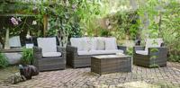 Set sof�, sillones y mesa para exteriores 12