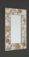 Espejo de n�car rectangular