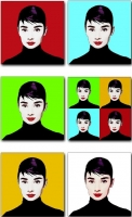 Colecci�n Pop Art Audrey