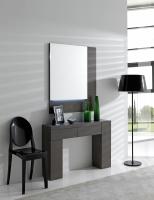 Consola con espejo moderna - Conjunto de entrada