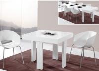 Mesa de comedor extensible moderna cuadrada - Mesa de comedor cuadrada extensible
