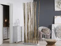 Biombo o separador cañas de bambu Natural - Biombo o separador cañas de bambu Natural