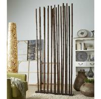Biombo o separador cañas de bambu marron - Biombo o separador cañas de bambu marron