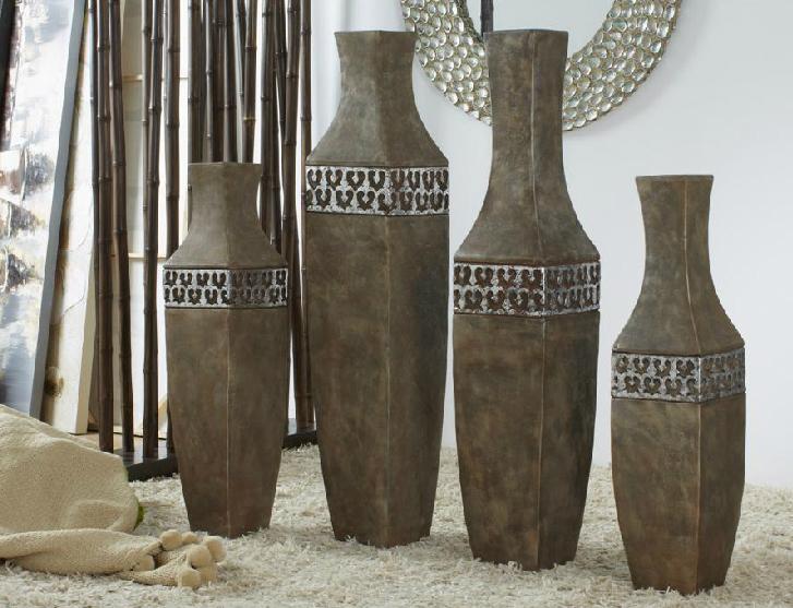 Jarrones decortaivos for Decoracion hogar jarrones