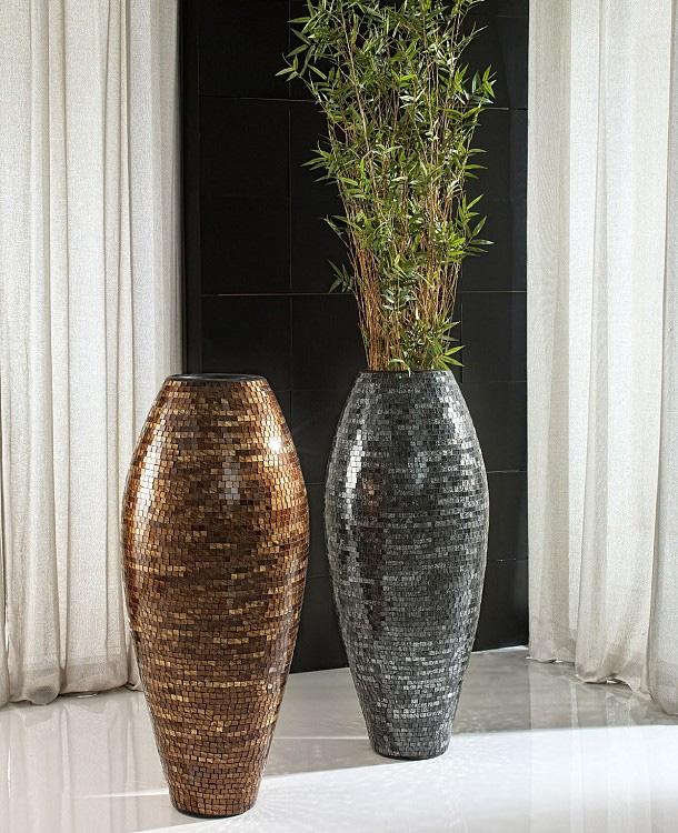 Set jarrones bonito cadiz for Jarrones de suelo zara home
