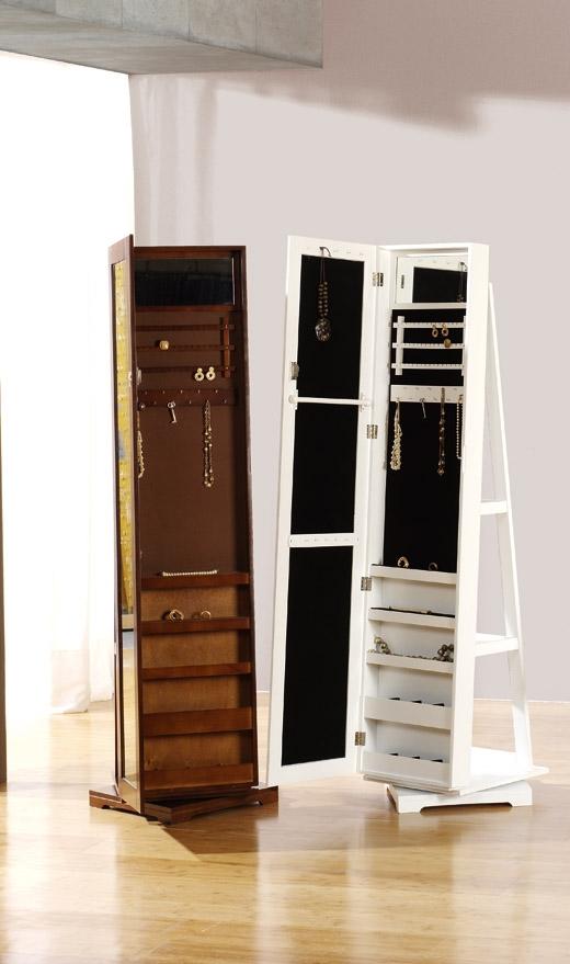 Joyero espejo vestidor antiguo giratorio - Mueble espejo joyero ...