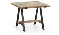 Mesa auxiliar Mhian - MHIAN Mesa Auxiliar metal sobre madera natural