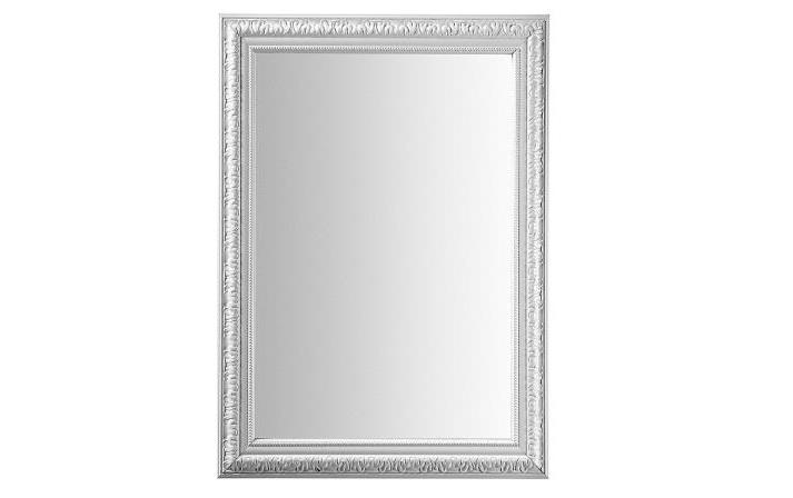 Mia home espejo rectangular en plata for Espejos color plata